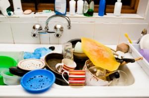 Geschirrwaschen per Hand