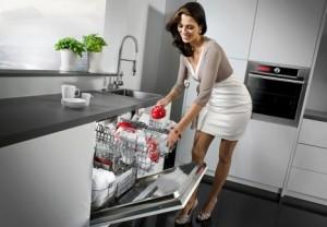 Geschirrwaschen mit der Spülmaschine