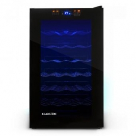 Weinkühlschrank MKS-2 28 Flaschen schwarz Touchpad