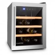 Reserva 12 Uno Weinkühlschrank 12 Flaschen 33 Liter Edelstahl LED