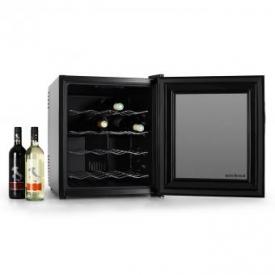 Weinkühlschrank MKS-1 16 Flaschen schwarz Touchpad