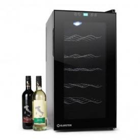 Vivo Vino Weinkühlschrank 18 Flaschen 50 Liter LED schwarz