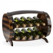 Barrica Holz-Weinregal Weinfass Flaschenständer 10 Flaschen Fichte