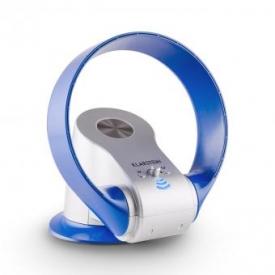 myStream Design-Standventilator 32W Fernbedienung blau