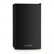 Alleinversorger Kühlschrank 90l Klasse A+ 2 Ebenen Eisfach schwarz