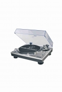 Audio-Technica AT-LP120USBC (Silber) Plattenspieler