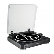 Audio-Technica AT-LP60USB (Schwarz) Plattenspieler