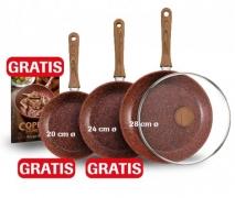 Copper Stone Pan