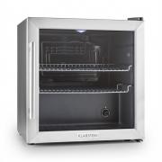 Klarstein Beersafe L Kühlschrank 50 Liter Klasse A+ Glastür Edelstahl