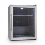 Klarstein Beersafe XL Kühlschrank 60 Liter Klasse A++ Glastür Edelstahl