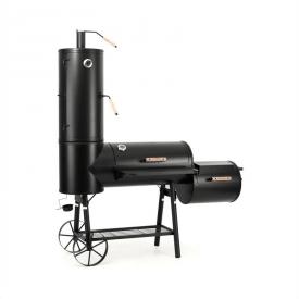 Klarstein Monstertruck Smoker Grill BBQ Räucherofen Stahl schwarz