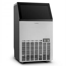 Klarstein Powericer ECO Eiswürfelmaschine 400W 45kg/Tag Timer Edelstahl