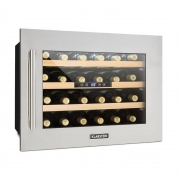 Klarstein Vinsider 24D Weinkühlschrank Einbau 1 Kühlzone 24 Flaschen Edelstahl