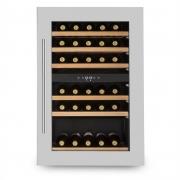 Klarstein Vinsider 35D Einbau-Weinkühlschrank 128 Liter 41 Weinflaschen 2 Zonen