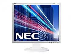 NEC Multisync EA193Mi/WH48,2cm 19Zoll IPS TFT W-LED BL 5:4 250cd 1000:1 6ms 1280×1024 DVI-D DisplayPort weiss m. silb. Rahmen