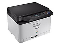 SAMSUNG Farblaser-Multifunktionsgerät Xpress C480 mit ReCP-Technologie für brillante Ausdrucke (SL-C480/TEG)