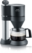 Severin KA 5703 – edelstahl-gebürstet/schwarz Kaffeemaschine