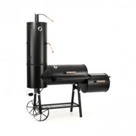 Monstertruck Smoker Grill BBQ Räucherofen Stahl – schwarz