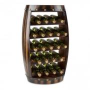 Barrica Holz-Weinregal Weinfass Flaschenständer 22 Flaschen Fichte