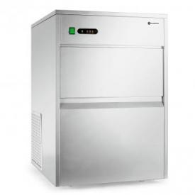 Eiswürfelmaschine Industrie 380W 50kg/Tag Edelstahl weiß