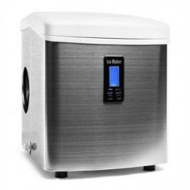 Mr. Silver-Frost Eiswürfelmaschine 150W Edelstahl weiß 13kg